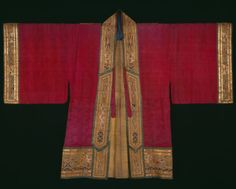 Vestment (For a Second-degree Taoist Priest) | The Art Institute of Chicago Gift of Mrs. William J. Calhoun, 1937.796