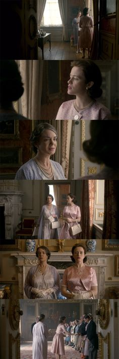 """The Crown Style: """"Marionettes"""" and """"Vergangenheit"""" Clare Foy, The Crown 2016, Crown Tv, The Crown Series, Crown Netflix, Marriage Issues, Color Script, Prince Phillip, Princess Margaret"""