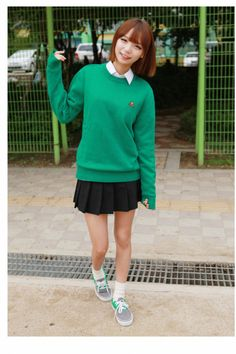 cute and preppy ulzzang