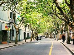 Shanghai French Concession- after reading Shanghai Girls I'm dying to explore this area.