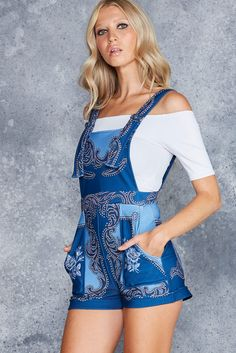 My First Rodeo Short Overalls - CAPPED PRESALE ($99AUD) by BlackMilk Clothing