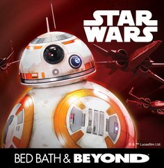 Have a blast with Star Wars breakout character, BB-8. He's here (along with an entire force of other characters) just in time for the movie release of The Force Awakens and gift-giving for the holiday season.