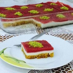 """The post """"Colorful Dessert with Meat"""" appeared first on Pink Unicorn Kreatives Colorful Desserts, Summer Desserts, Cooking Cake, Pavlova, Food Art, Catering, Cheesecake, Brunch, Dessert Recipes"""