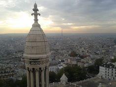 Vue de Paris du haut du Sacré-Coeur