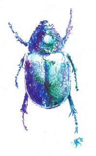 opalescent scarab  i love this bug  tattoo design