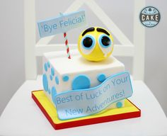 Emoji Farewell Custom Cake - Cake by Sarah Jane