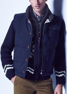 Layers for men.