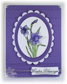 Stamps abundant hope paper lovely lilac whisper white ink stazon