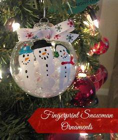 The Adventures of J-Man and Millerbug » 5 Fabulous DIY Christmas Ornaments for Kids