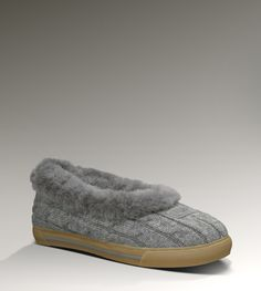 43225946afc Cheap ugg sheep skin boots sale online. Grey Slippers