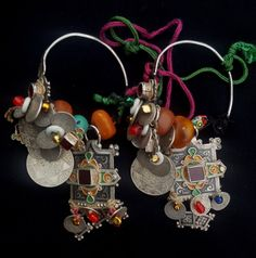 Morocco Rich Pair of decorative earrings temporal by TIFINAGH