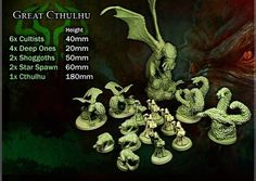 Cthulhu Wars, a competitive strategy game in which 3 to 5 players produce cultists and monsters, build mystic gates, and awaken Great Old Ones (GOOs), launched on June 7, 2013 with a goal of reaching $40,000. As of today it has cleared the $550,000 mark and according to Kicktraq's projections, could earn anywhere from $1.6 to $3 million at its conclusion on July 7.