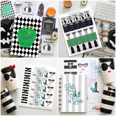 How to Decorate Your Planner for Fall