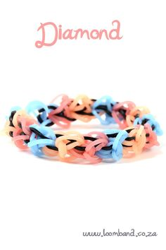 Diamond loom band tutorial instructions and videos on hundreds of loom band designs. Shop online for all your looming supplies, delivery anywhere in SA.
