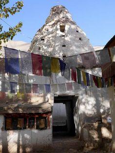 Gateway stupa, Alchi Monastery, Ladakh, India