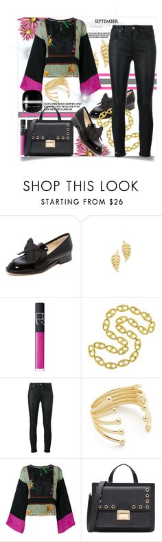 """September"" by helenaymangual ❤ liked on Polyvore featuring Botkier, Jennifer Meyer Jewelry, NARS Cosmetics, Yves Saint Laurent, Sarah Chloe, Etro and Marc Jacobs"