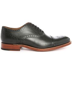 GRENSON Tom black brogue shoes