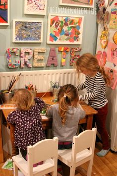 Creative Arts Area and Gallery for Kids - The Imagination Tree