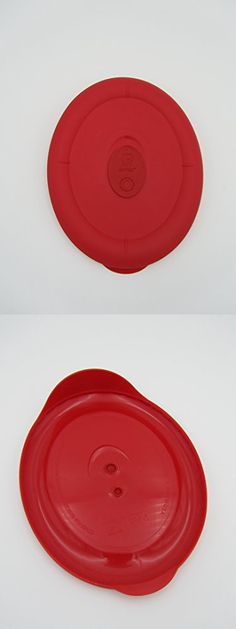 Pyrex Deluxe - Red 3 2/3 Cup Oval Bowl Lid