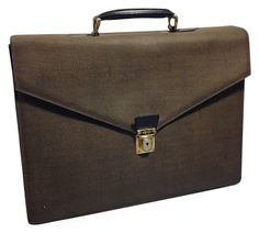 1b0e9517e63d Fendi Vintage Briefcase Business Handbag Brown   Black Travel Bag on Sale