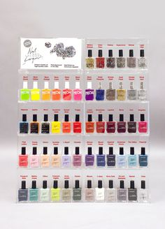 Nail Polish Collection by #AmericanApparel.  #nails #nailpolish #colors