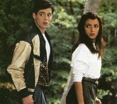 Matthew Broderick and Mia Sara in Ferris Bueller's Day Off (1986)