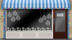 Christmas window ideas for your shop window display