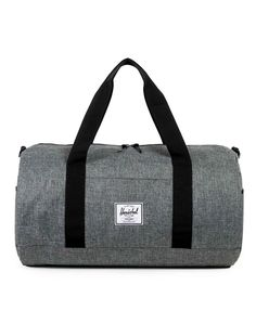 New In   Herschel Sutton Duffle Bag in Grey   Shop all men's clothing and accessories at The Idle Man