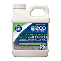 Eco Advance Concrete Masonry Siloxane Waterproofer Liquid Concentrate