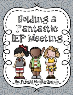 Holding a Fantastic IEP from Mrs. P's Special Education Classroom on TeachersNotebook.com (20 pages)