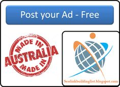 We are provide all OffPage SEO list Like Top High PR Classified Ads Australia,India,USA and Canada, Classified Ads, Document Sharing, Images Sharing, Video Sharing, Audio Sharing, Proxy, Question and Answer, Ping, Press Release Submission, Search Engine Submission, RSS Feed, Web Directory, Forum Posting, Blog Posting, Profile Creation, Articles Submission, Social Bookmarking, Business Review, Local Business Listing, Business Listing USA,UK,Canada and Australia at…