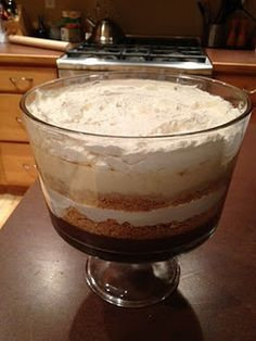 Easy pudding/graham/cheesecake trifle