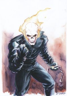 Ghost Rider Comic Art  Auction your comics on http://www.comicbazaar.co.uk