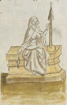 Johannes von Indersdorf. Spruchsammlung von Eigenbesitz. Büchlein von der geistlichen Gemahelschaft Bayern, 1454 Cgm 775 Folio NP