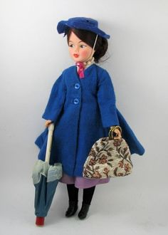 1960s Horsman Walt Disney Mary Poppins Doll.  I could not believe the year I got this doll and book for Christmas/birthday!!!  I was so happy!