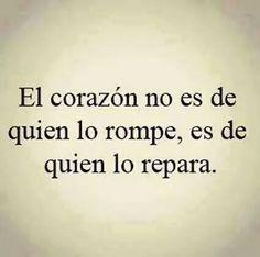 Y en eso estoy…dejándome reparar…..