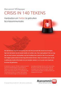 Whitepaper 'Crisis in 140 tekens'. Management