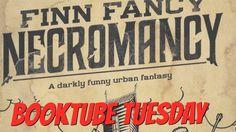 Booktube Tuesday: Finn Fancy Necromancy by Randy Henderson - YouTube