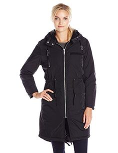 Cheap Monday Women's Search Parka Jacket, Black, X-Small…
