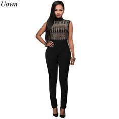 Sexy Club Rivet Women Jumpsuit 2017 Spring Sleeveless Turtleneck Back Zip Bodycon Jumpsuits Stretch Rompers Overalls for Ladies