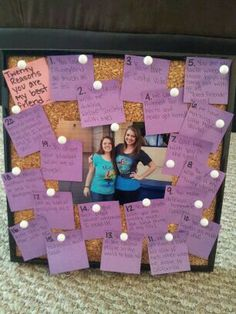 I saw this on pinterest but made it toally my own. I gave it to my best friend for her 20th birthday :)