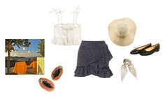 """Brutus"" by andreaceja ❤ liked on Polyvore featuring Madewell, Topshop, American Apparel, Chanel and Hermès"