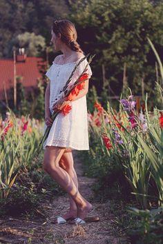 Birkenstock Madrid Outfit white dress