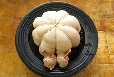 How To. Debone A Whole Chicken.A Stuffed Chicken Cushion. TheScottReaPro...