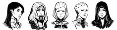 team members sketches 03 by kate-niemczyk.deviantart.com on @deviantART