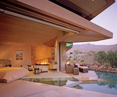 Fantastic! My dream house is very much like this.   Jerry, I am accepting your invitation in advance. Name the day, I'll be there!!  (House of Jerry Weintraub, Palm Desert, CA)