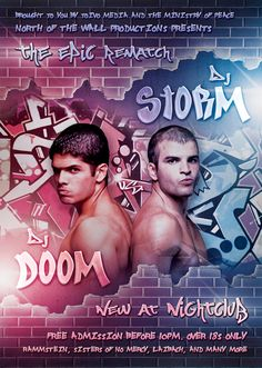 DJ Battle - Urban Flyer / Poster by martinemes.deviantart.com on @DeviantArt