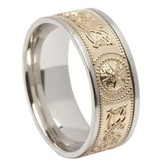 mens western wedding bands | ... this: http://www.irishcelticjewels.c…g-ring.jpg and we both love it