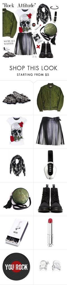 """""""You rock."""" by ms-wednesday-addams ❤ liked on Polyvore featuring Custommade, Philipp Plein, Alaïa, Alexander McQueen, Pryma, Dr. Martens, L'Objet, Christian Dior and Bling Jewelry"""