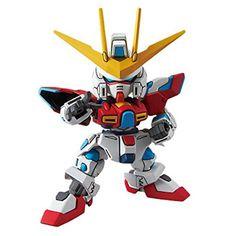 Bandai SD Gundam Try Burning Gundam Hobby Model Kit Figure